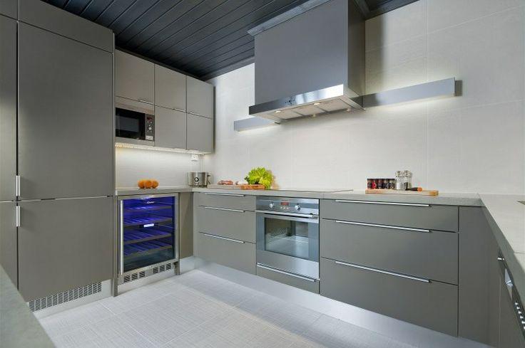 Beautiful modern kitchen.