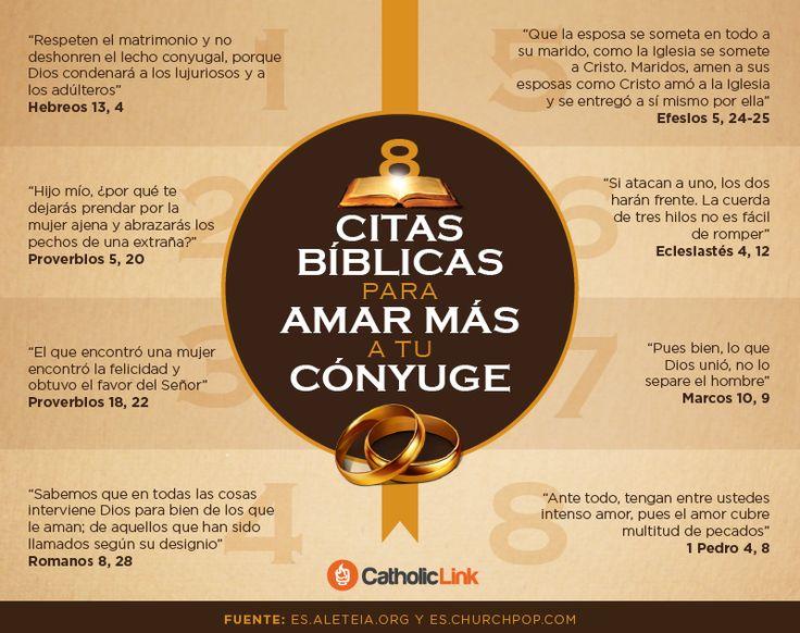 Biblioteca de Catholic-Link - Infografía: 8 citas bíblicas para amar más a tu...