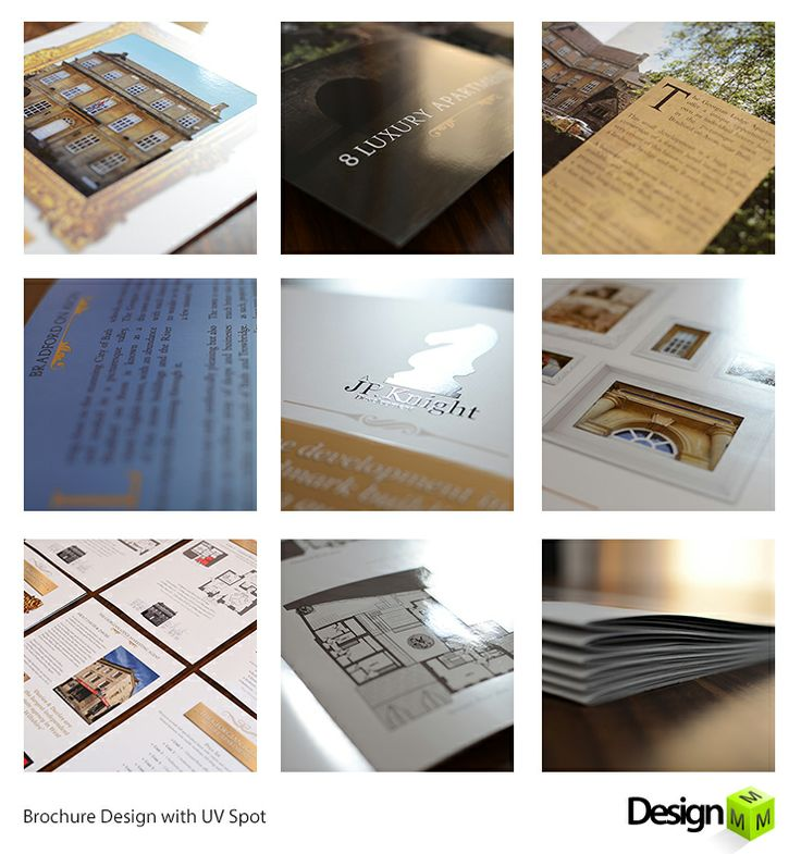 Professional Brochure With UV Spot Feature Designed By Design Mco
