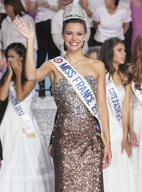 Marine Lorphelin, Miss Bourgogne, was crowned Miss France 2013 on Saturday.    Miss France have received a Charriol Parisii watch with 144 diamonds.