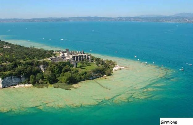 Sirmione , terme di Catullo (Lake of Garda)