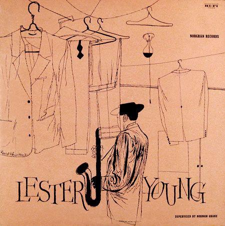 "Lester Young   Label: Norgran 1022   12"" LP 1955"