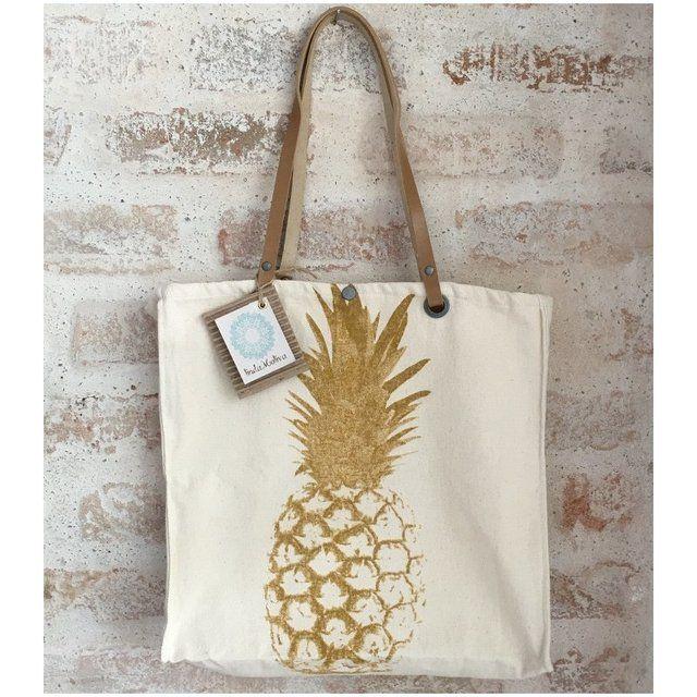 Bolsa Abacaxi - sacola de lona -LMBL/21 - comprar online