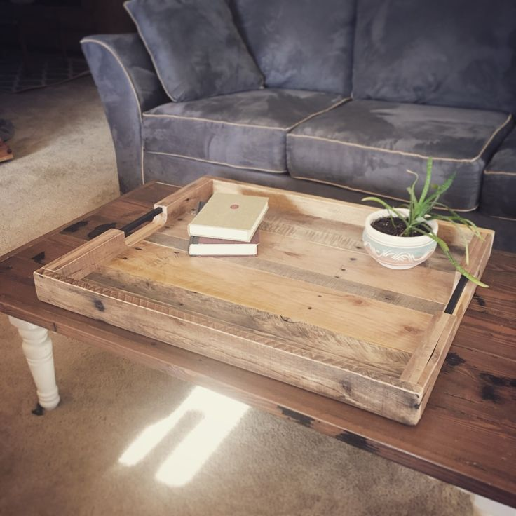 Large Wooden Coffee Table Tray: 1000+ Ideas About Large Ottoman Tray On Pinterest