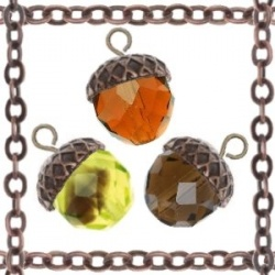 17 best images about acorns on pinterest crafting for Acorn necklace craft