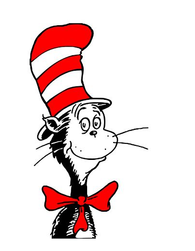 cat in the hat clip art - 403×518