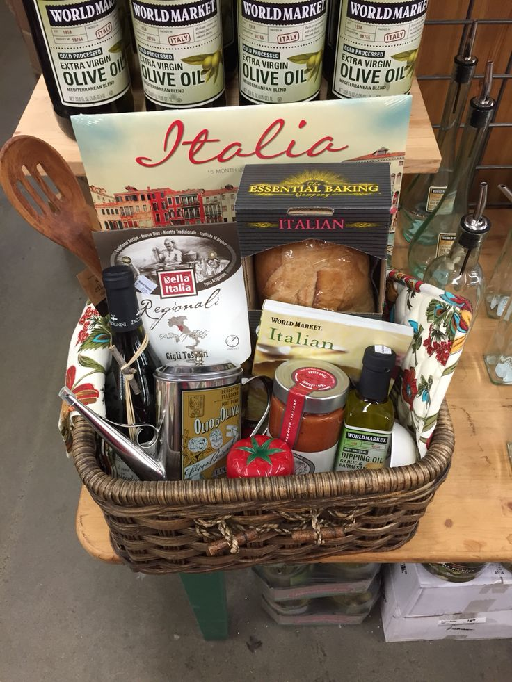 Italian Date Night gift basket from World Market