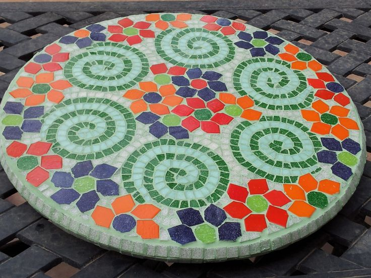 Modern seder plate that spins
