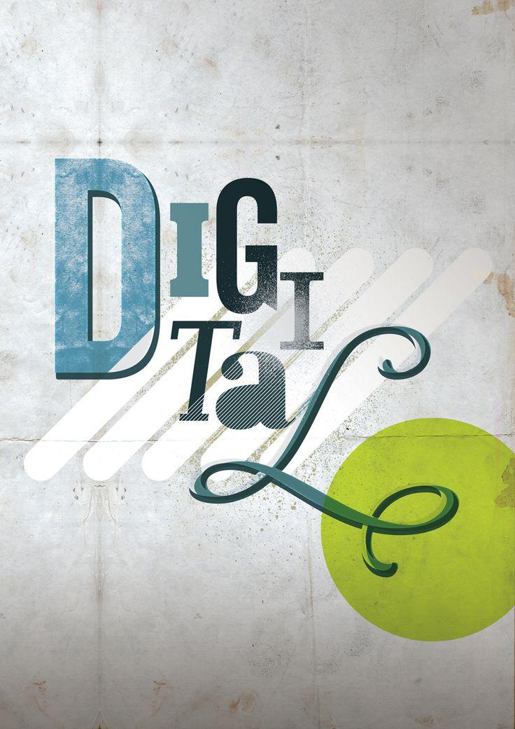 Adobe Illustrator & Photoshop tutorial: Digital type art techniques - Digital Arts