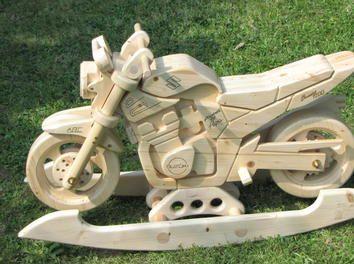 """Schaukelmotorrad """"Suzuki GSF 1200 N Bandit"""" Kinderspielzeug,Schaukelpferd,Schaukelmotorad"""