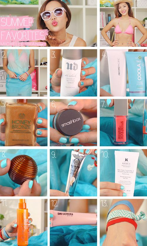 summer favorites | Michelle Phan #beauty