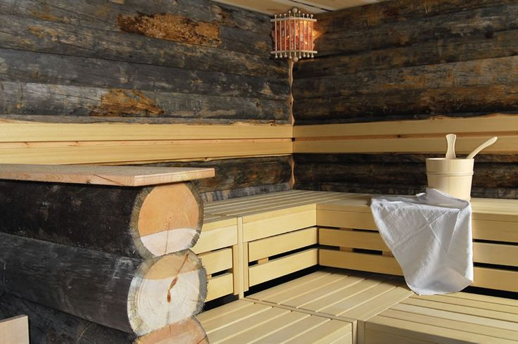 Outdoor Log Sauna Cabins