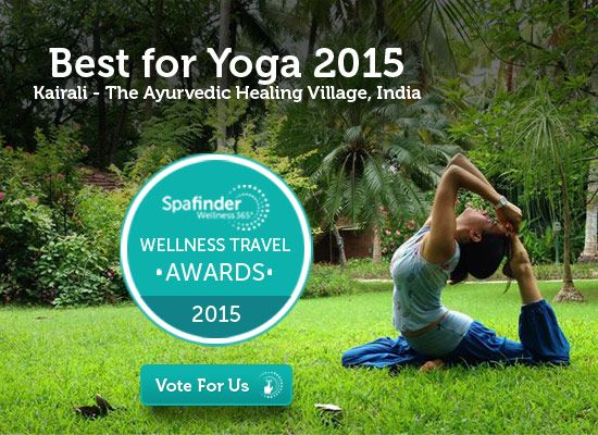 "Kairali - The Ayurvedic Healing Village is a finalist in the Spafinder Wellness 365 2015 Wellness Travel Awards. http://www.wellnesstravelawards.com/we…/consumer-voting-form Easy 4 Step Voting 1. Register yourself by providing you full name, email and country of residence. 2. Click on category names to show/hide the finalists you may vote for. 3. In the Category list to the ""Best for Yoga Category'' Please do Choose Kairali-The Ayurvedic Healing Village- India. 4. Lastly Click on "" Vote Now"""