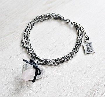 KSZU- Silver Love Bracelet [pr925]