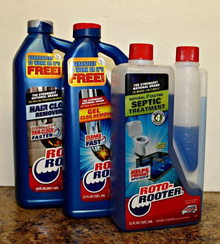 Take care of your plumbing issues at home with products designed by the #1 Plumbing company in the United States. #RotoRooter #Pluming
