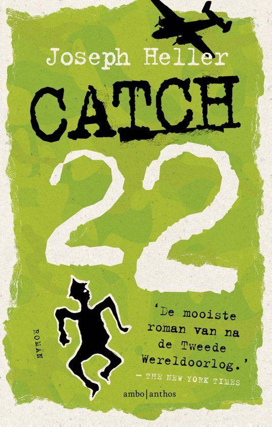 Een van de bekendste oorlogsboeken over WOII: Catch-22 van Joseph Heller