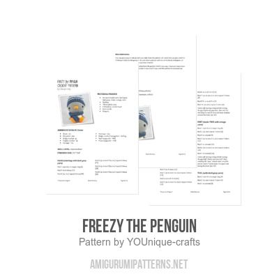 Freezy the Penguin amigurumi pattern - Amigurumipatterns.net