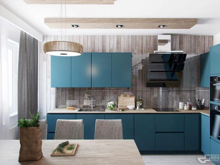 Эко квартира_Кухня - Галерея 3ddd.ru