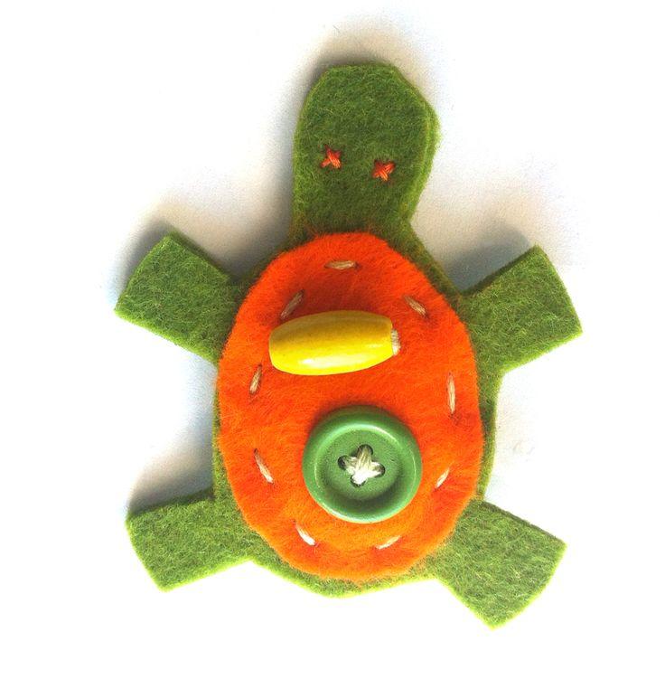 Tartaruga verde e aranciio