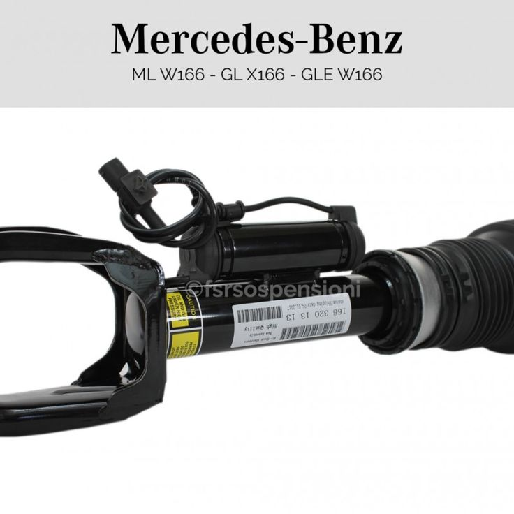 Ammortizzatore completo Mercedes-Benz Classe GLE W166 anteriore sinistro con ads