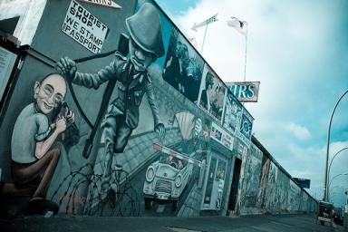 East Side Gallery - The Berlin Wall is a Piece of Art