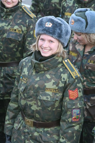 Ukraine army girls