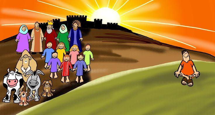 Jonas   Leute von Ninive und jonas