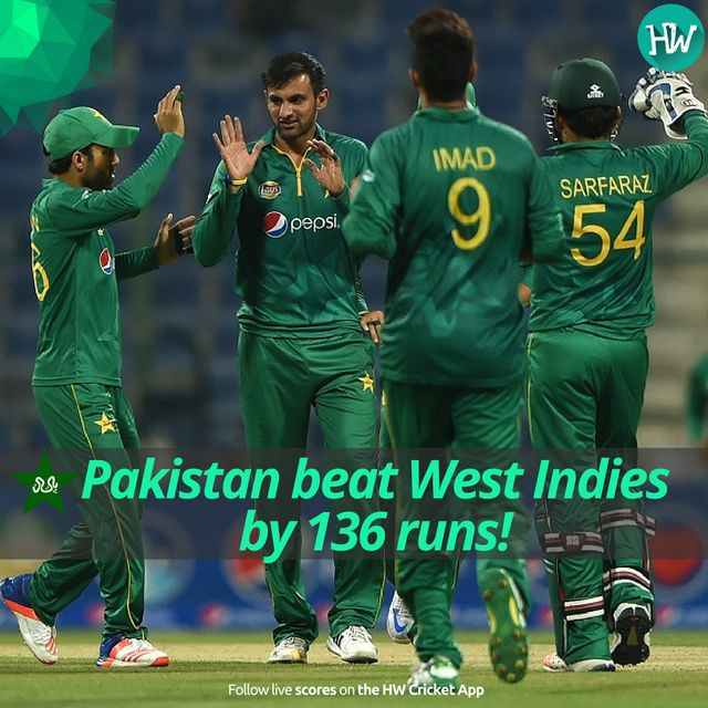 Pakistan completely demolished West Indies in the final ODI and won the series 3-0! #PAKvWI #PAK #WI #cricket