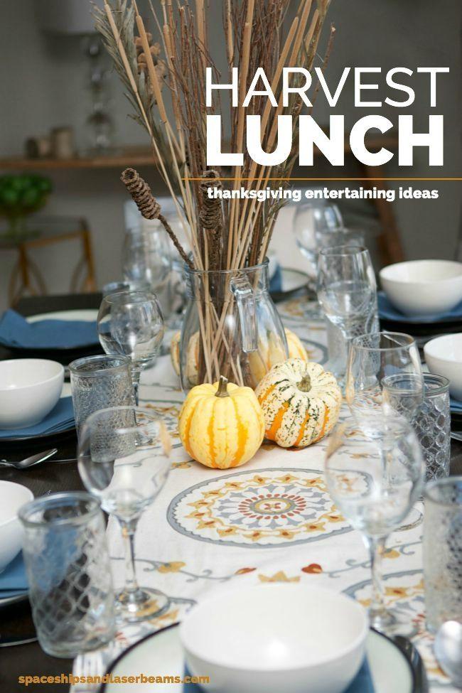 Harvest Lunch Thanksgiving Dinner Ideas Thanksgiving