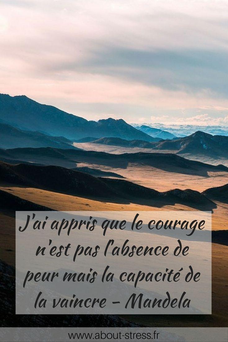 J'ai Appris Que Le Courage N'est Pas L'absence De Peur Mais La Capacité De La Vaincre : appris, courage, n'est, l'absence, capacité, vaincre, Pensée, Positive, About, Stress, Pensées, Heureuses,, Positives,, Estime