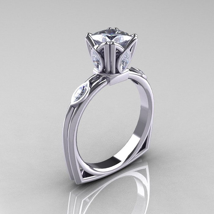 37 best Cubic Zirconia Engagement Rings images on Pinterest