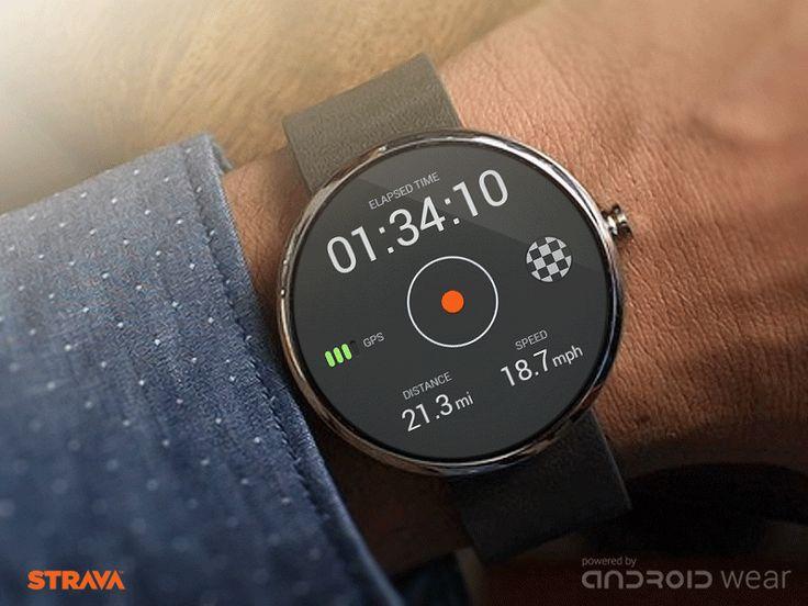 Android Wear: Strava Wear / David Kovalev