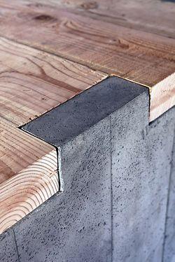 Modern kitchen interior design inspiration bycocoon.com | concrete and wood | kitchen design | project design & renovations | RVS keukenkranen | Dutch Designer Brand COCOON