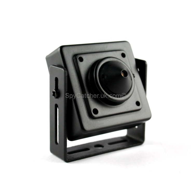 Mini Pinhole Spy Camera ~ This pinhole camera is the perfect pairing of covert surveillance combined with extreme quality. This secret camera connects to almost any viewing device (TV, DVR, PC) to provide instant security for the home or office, and can be easily installed by anyone.