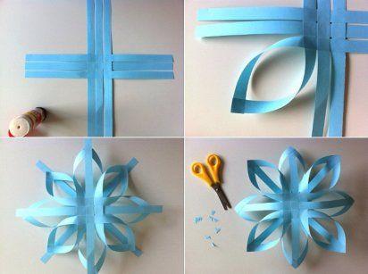 3 video tutoriales DIY para hacer estrellas de Navidad