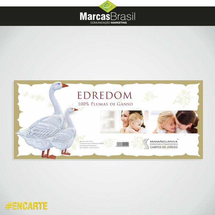 Encarte – Mamãe Ganso  > Desenvolvimento de Encarte para Mamãe Ganso < #encarte #marcasbrasil #agenciamkt #publicidadeamericana