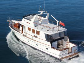 Salthouse 60 Classic Motoryacht (See Video)