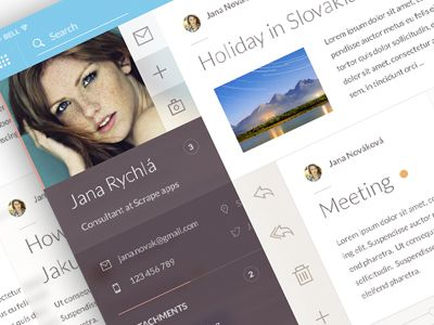 Email client profile by Jakub Antalík