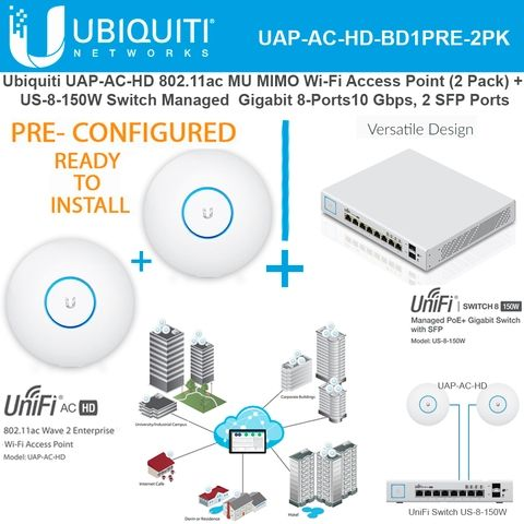 #Ubiquiti #Networks #UbiquitiNetworks #UAP #AC #HD #FlyTec #FlyTecComputers #PRECONFIGURED #MIMO #Enterprise #WiFi #AccessPoint #UniFi #PoE #Switch #READYTOINSTALL #Florida #USA #Business #Expandable #fl