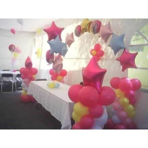 Resultado de imagen para como hacer arreglos con globos