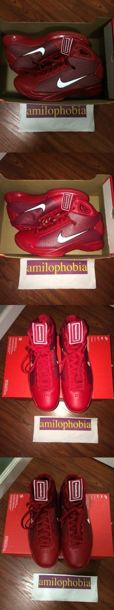 Men 158971: New Men S Nike Hyperdunk 08 Size 11 Red White Basketball Shoes -> BUY IT NOW ONLY: $48.48 on eBay!