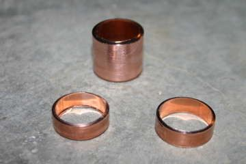 How to make a ring from cast off copper pipe by sysiphus on instructables
