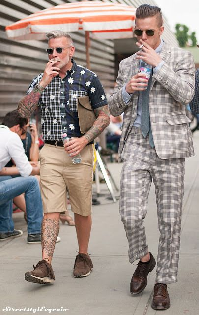 """style-cool-ture: """" • Fortezza da Basso…Nick Wooster """""""