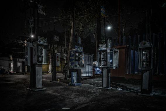 De donkere stad, Mexico City