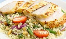 Moroccan Spiced Chicken with Couscous Salad