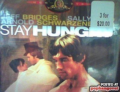 stay hung[ry]