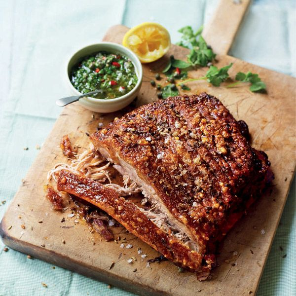 The exciting combination of fennel, coriander and chilli make this succulent pork belly extra special.