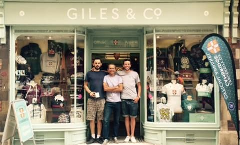 Giles & Co - specialising in official University of Cambridge merchandise