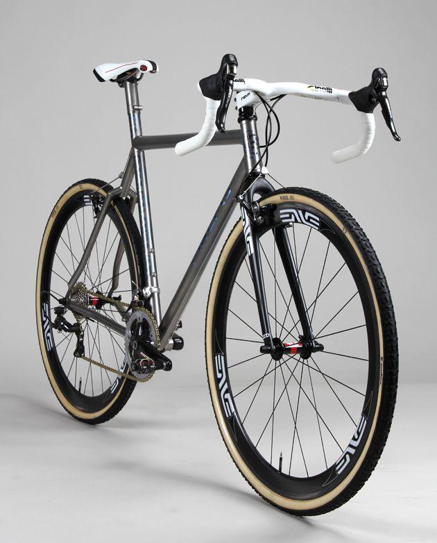 Cross Titanium Bike by FIREFLY