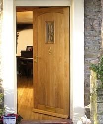 Cottage Oak M Triple Glazed   External Hardwood Doors   Doors & Joinery   Howdens Joinery